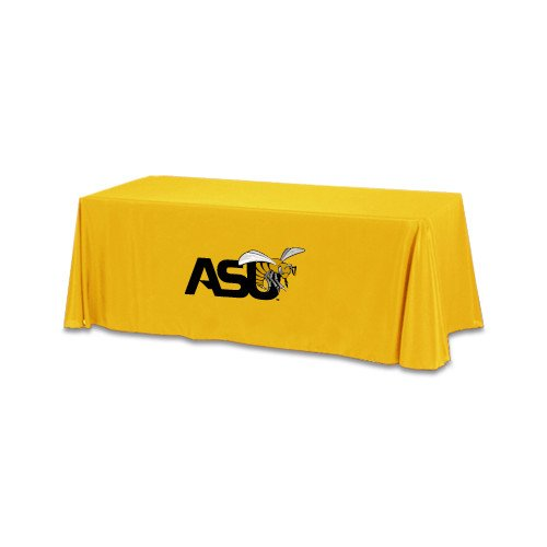 Alabama State Gold 6 foot Table Throw 'Official Logo' by CollegeFanGear
