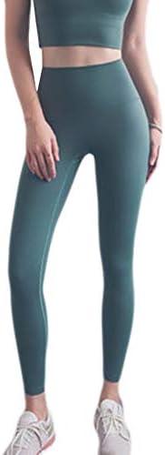 ハイウエストのヨガパンツ、腹部、女性のスポーツパンツ、4ウェイストレッチヨガパンツ (Color : C, Size : L)