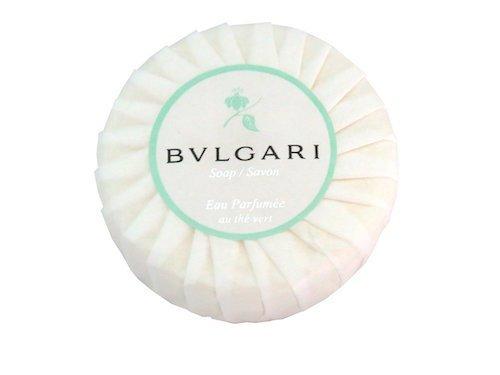 Bvlgari/Bulgari Au the Vert (Green Tea) Pleated Soap - 50 Grams