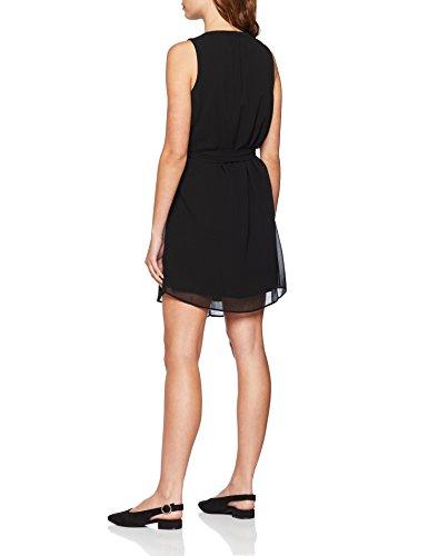 Noir Mujer Para noir Vestido Naf 625 Etaq7UBw