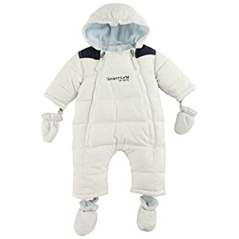a456edc82 NEW BABY TIMBERLAND Cocoon Trail Off White Snowsuit (6 Months):  Amazon.co.uk: Clothing