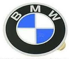 (BMW bav e12 e23 e24 Wheel center cap Emblems 57mm OEM covers hub roundel sticker)