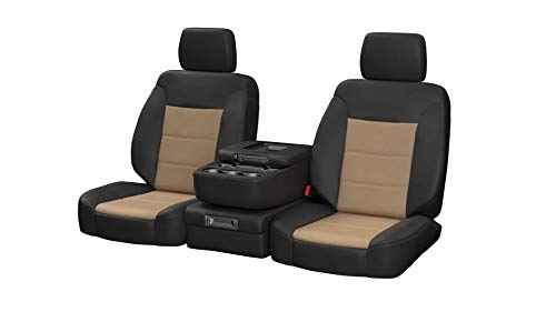 Custom ShearComfort Sof-Touch Imitation Leather Seat Covers for 2019 Chevy Silverado 1500...