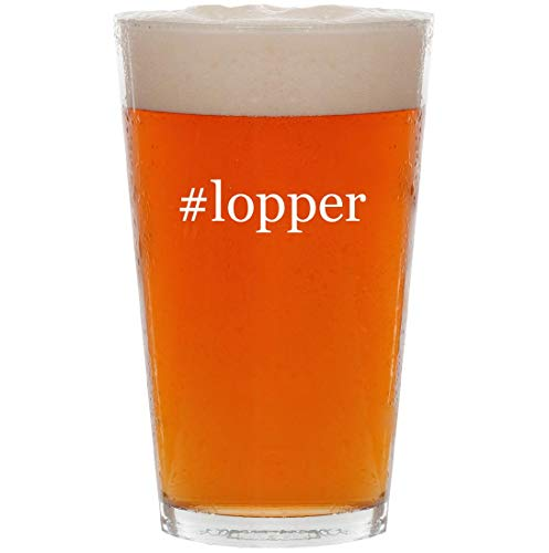 (#lopper - 16oz Hashtag All Purpose Pint Beer Glass)