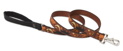 LupinePet 1 Inch Shadow Hunter 4 Foot Dog Lead for Medium and Large Dogs by LupinePet