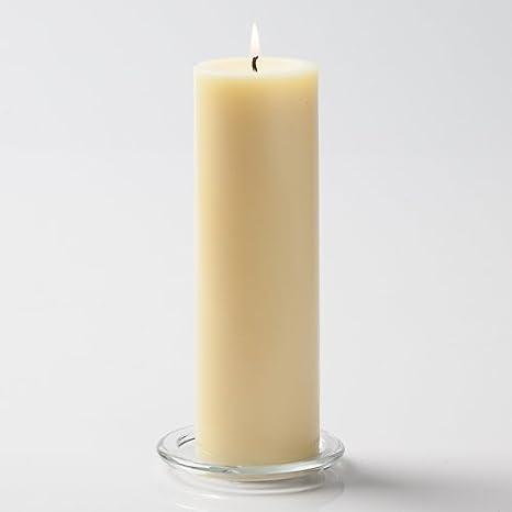 Richland Church Pillar Candles 3 x 9 Ivory Set of 2