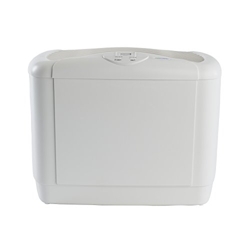 AIRCARE 5D6 700 4-Speed Mini Console Humidifier,White, Gray