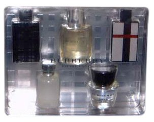 aaeb7417863 Burberry Collection By Burberry For Men. Gift Set (Contians 5 Miniature Of  Brit