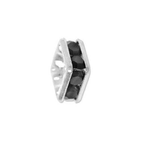 Silver Plated Squaredelle Spacers With