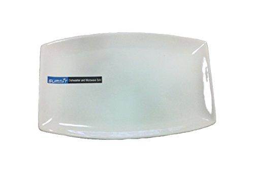 14in Oblong Ceramic Plate (1 Doz) (Dinner Plates Oblong)