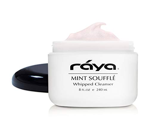 (RAYA Mint Soufflé Facial Cleanser 8 oz (102) | pH Balanced Face Wash for Oily and Combination Skin| Helps Clear Clogged Pores and Smooth Complexion)
