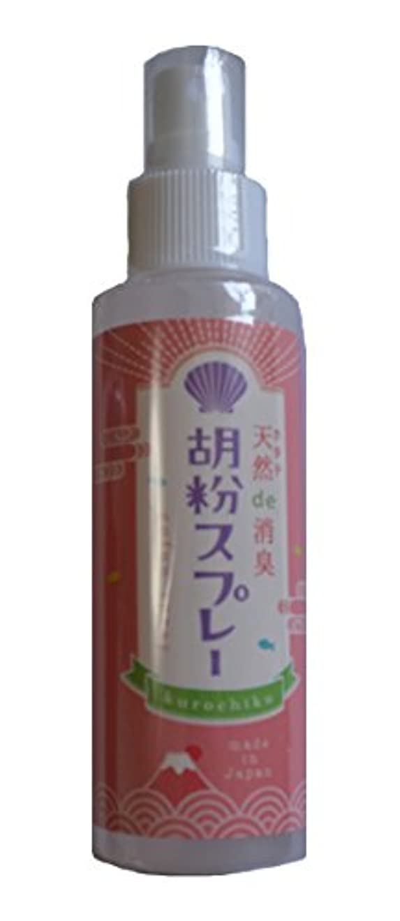 渇き座標激しい京都くろちく 胡粉スプレー