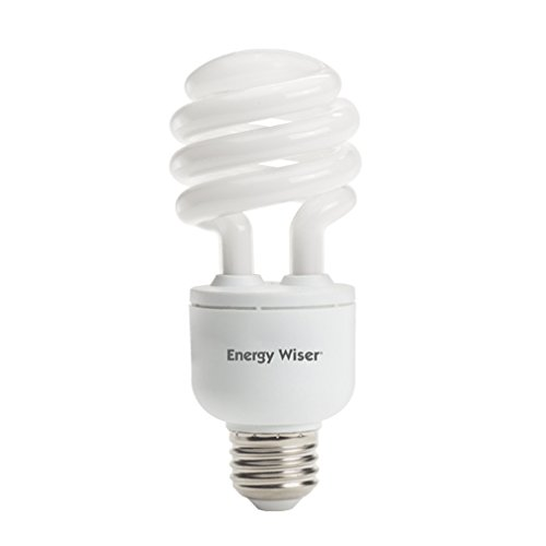 Bulbrite CF18C/WW/DM 18W 120V Energy Wiser Dimmable Compact Fluorescent Coil T3 Bulb, Warm White