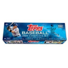 - Topps MLB Baseball Cards 2009 Complete Factory Set (660 Cards Plus 10-Card Rookie Variation Pack)