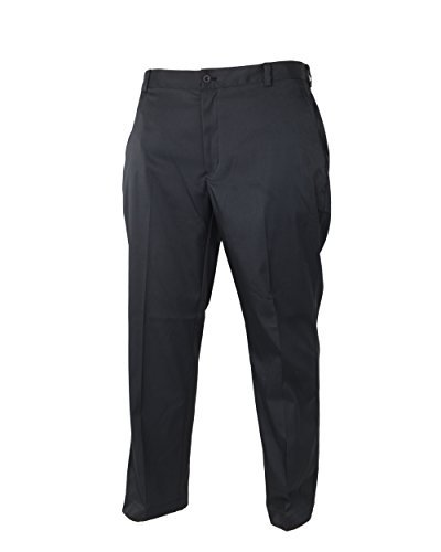 Nike Mens Flat Front Golf Pants (38-30, Black)