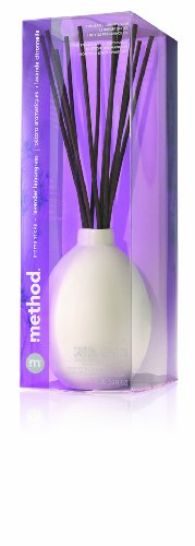 Method Aroma Stick Ceramic Fragrance Diffuser Lavender Lemongrass 6/3.3-Ounce, 0.2 Box