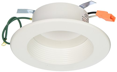 Halo Recessed RL460WH927PK 90 CRI 2700K LED Retrofit with White Trim, 4'', Warm White by Halo