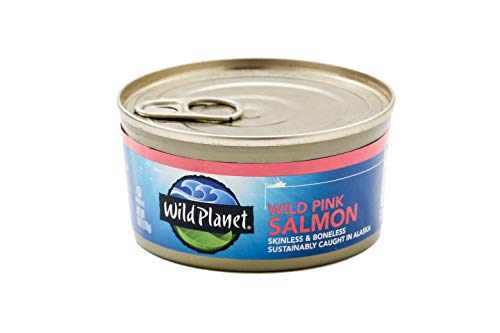 Wild Planet, Wild Pink Salmon, 6 Ounce, Pack of 12 2