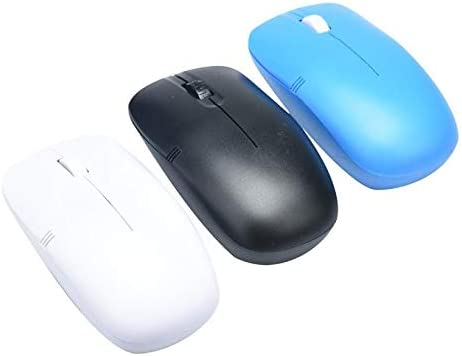 Color: Black Calvas New 1pc 2.4GHz Wireless Mouse Gaming With USB Receiver Pro Gamer For PC Laptop Desktop fe9
