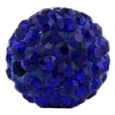 10 x Perle Bleu Nuit 10mm