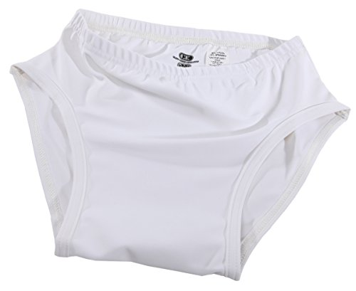 Cliff Keen Lycra Briefs - SIZE: M, COLOR: White [Apparel]