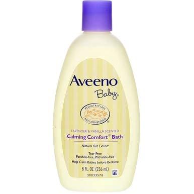 Aveeno Baby Calming Comfort Baby Bath - 8 Oz (3 pack)