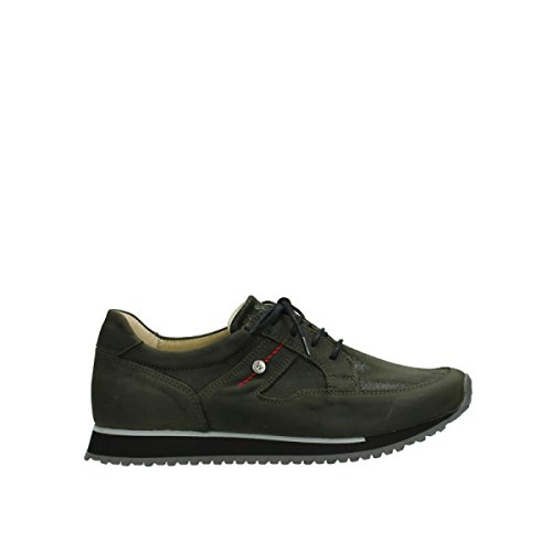 20730 Confort Wolky Forest walk Leather nbsp;e Formadores 05800 Stretch Green XqdTwxdr
