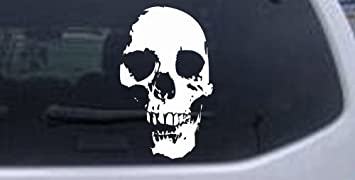 """Skull and Wrenches #2 Vinyl Decal Sticker Car Sticker Window truck bumper 9/"""""""