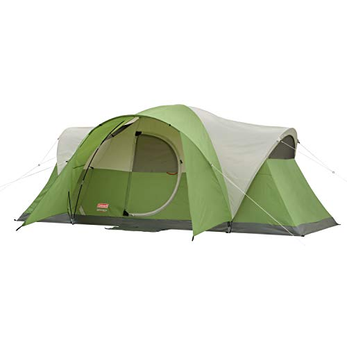 Coleman 8-Person Tent for Camping | Elite Montana Tent with Easy Setup (Best Place To Mattress Shop)
