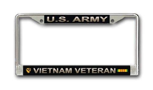 MilitaryBest U.S. Army 1st Cavalry Division Vietnam Veteran License Plate ()