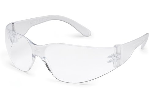 Gateway Safety 46X9 UL-Certified Starlite Safety Glasses, FX3 Premium Anti-Fog Lens, Temple, Regular, Clear (Pack of 10)