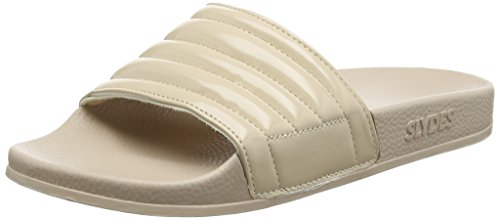 Slydes Port F - Sandalias Mujer Rosa (Nude)