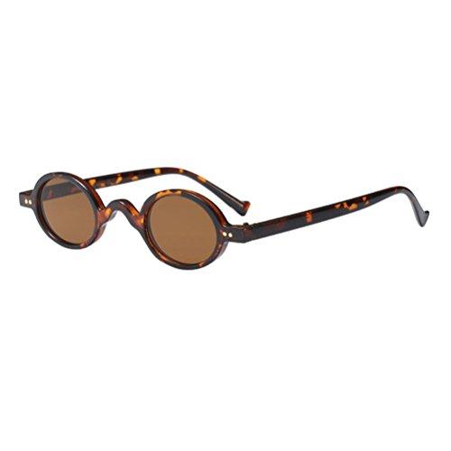 Unisexe UV400 Hommes Style1 Soleil Femmes De Vintage Rétro Protection Zhuhaitf De Brown Lunettes Ombres wzxtqH7EB
