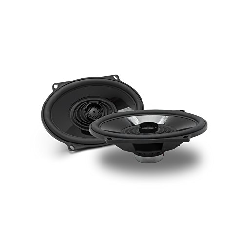 Rockford Fosgate TMS57 5x7 Full Range Coaxial Replacement Speakers for 1998+ Harley Davidson Models / 100 Watts RMS / 200 Watts Peak -