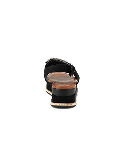 Plateforme Cassis Awfzqaxd Sandale Noir D'azur Ethel Cote Tl31FKcJ