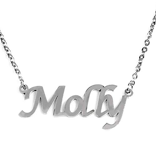 Zacria Molly Name Necklace...