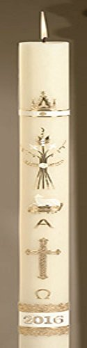 Ornamented Paschal Candle by AT001
