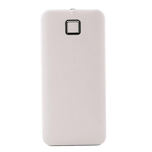 ZHUOTOP Premium Portable USB Charger Power Bank 20000mah for Mobilephones, White