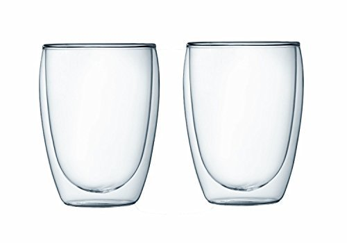 Bodum Pavina Double-wall Insulated 12-ounce Glasses - - Set of 4
