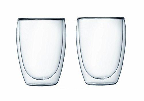 Bodum Pavina Double-wall Insulated 12-ounce Glasses - - Set of 4
