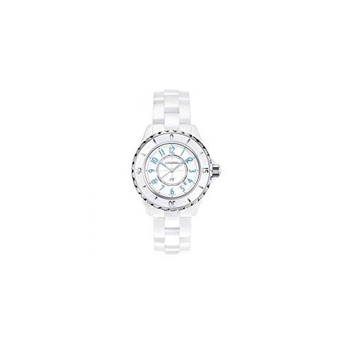 Chanel Women's H3826 Analog Display Quartz White Watch