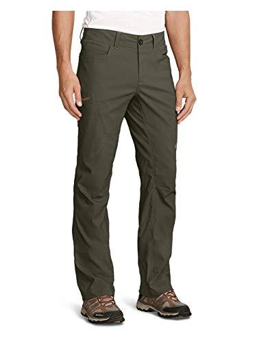 Eddie Bauer Men's Guide Pro Pants, Slate Green Tall - 100% Nylon Green