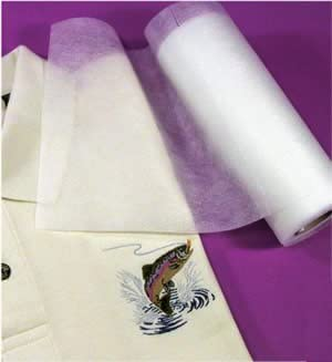 6 x 6 50 Sheets World Weidner No Show Polymesh Plus Soft Cut Away Embroidery Stabilizer Backing Medium Weight