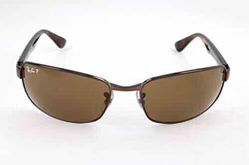 Ray-Ban RB3478 Polarized Rectangular Sunglasses