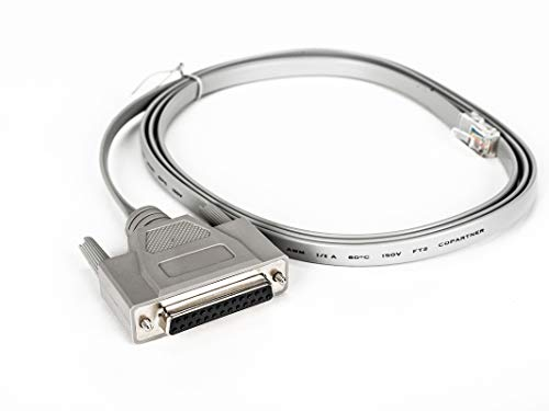 Avocent RJ45 to DB25F 6 Cross Cable Comp with All Cyclades Serial Prdts