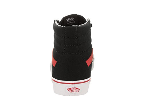 Vans Herren Sk8-Hi Hightop Sneaker Black/Racing Red