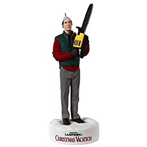 Best Epic Trends 31a7d5nqGqL._SS300_ Hallmark Keepsake Ornament 2020, National Lampoon's Christmas Vacation Clark Griswold Trimming the Tree With Sound