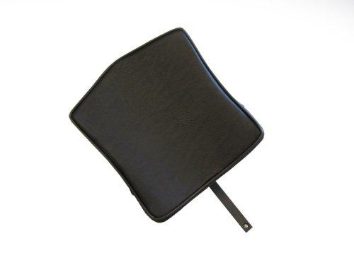Removable Adjustable Backrest for Harley Davidson Dyna Corbin Seats - Square- (Corbin Harley Seats)