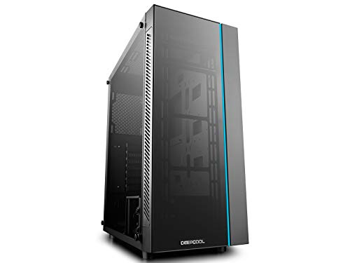 DeepCool MATREXX 55 Case, E-ATX Supported, Motherboard or Button Control of Sync of 12V RGB Devices of 4mm Full Sized Tempered Glass (Best Atx Full Tower Case)