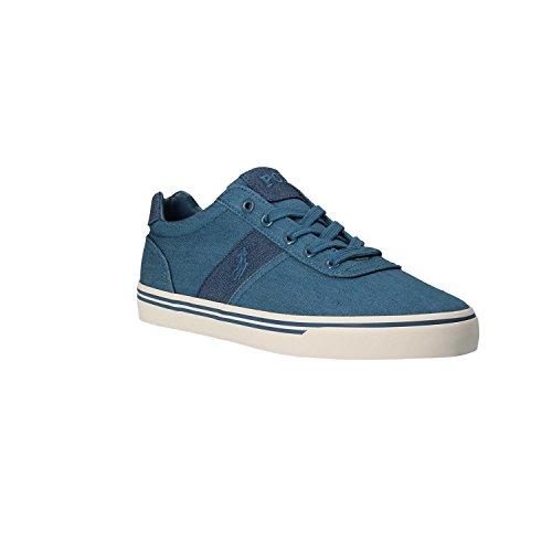 Polo Ralph Lauren Zapatillas de Lona Para Hombre Chambry Blu